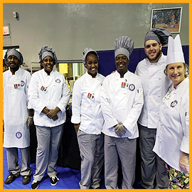 Group Volunteers: Culinary Students